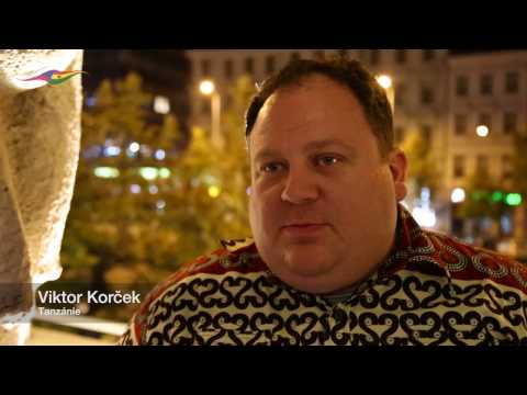 Interview with Viktor Korcek from Tanzania African Trust 2016 Hotel Jalta