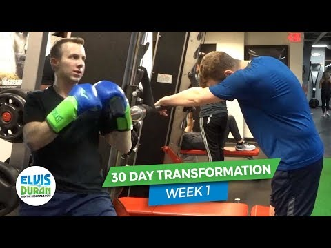 Elvis Duran - Jake's Fitness Video Journal