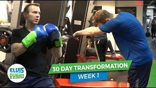30-Day Transformation: Week 1 | Elvis Duran Exclusive