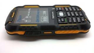 Sigma mobile X-treme DZ67 Travel - тест в морской воде
