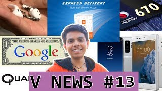 V News #13 - Youtube New Big Changes, airpod Blast, Snapdragon 670, Xiaomi Express Delivery, P20