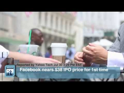 Finance Latest News  Facebook Nears $38 IPO Price for 1st Time