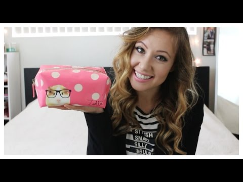 Whats In My Makeup Bag/Что в Моей Косметичке 2015  Kristina Hunter