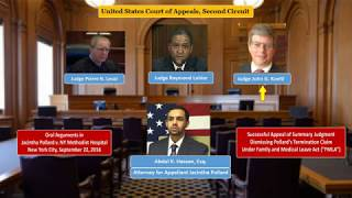 Second Circuit Court of Appeals - Oral Arguments in Pollard v. The New York Methodist Hospital.