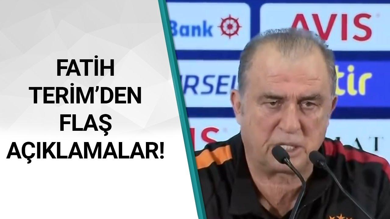Fenerbahçe 1 - 3 Galatasaray Fatih Terim Maç Sonu Basın Toplantısı Düzenledi! / A Spor