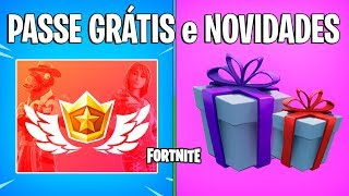 FORTNITE-BATTLE PASS 8 FREE, GIFTS and MANY NEWS! -Patch 7.4