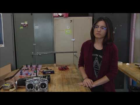 Mechanical Engineering Students Soar Using Solar Power