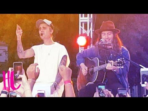 Justin Bieber 'Love Yourself' Live At Ellen Concert