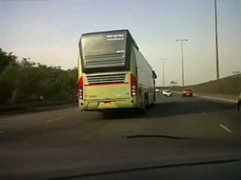 Olivea Volvo B9R multiaxle bus - YouTube
