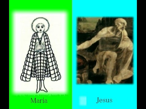 1847 Gods Wars Maria vs Jesus 神々の宗教戦争(マリアvsイエス)by Hiroshi Hayashi, Japanはやし浩司