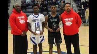 Video Westlake HS #15 Koby Isaac & McIntosh HS #1 Bruce Carpenter Battle In The 2nd Annual MLK Classic download MP3, 3GP, MP4, WEBM, AVI, FLV Agustus 2018
