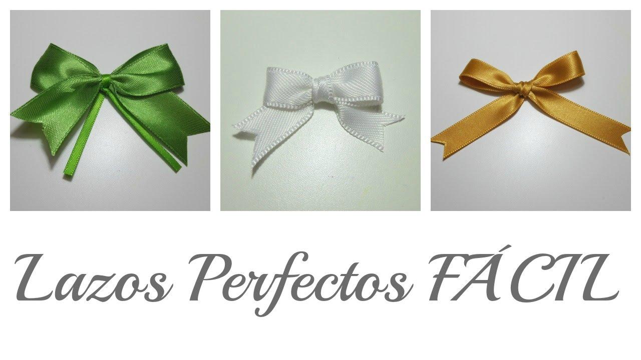 3 Trucos para hacer Lazos Perfectos | Perfect Bows | Mundo@Party ...
