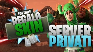 🔴 LIVE FORTNITE 🔴 PRIVATE SERVER PER TUTTI BASTA ISCRIVERSI CHANNEL 70 IN LOBBY DUO REGALO SKIN