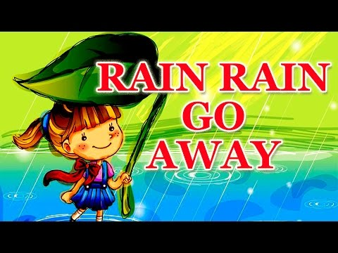 Rain Rain Go Away Nursery Rhyme With Lyrics | Cartoon Animation Rhymes & Songs for Children