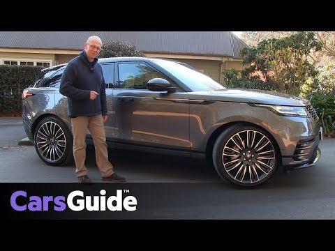 Range Rover Velar 2017 review: first drive video - Dauer: 5 Minuten, 1 Sekunde