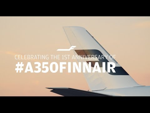 Relive the magic moment of the delivery of A350