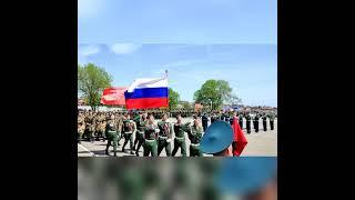 На полигоне ДГТУ состоялся студенческий парад в честь 76-летней годовщины Победы