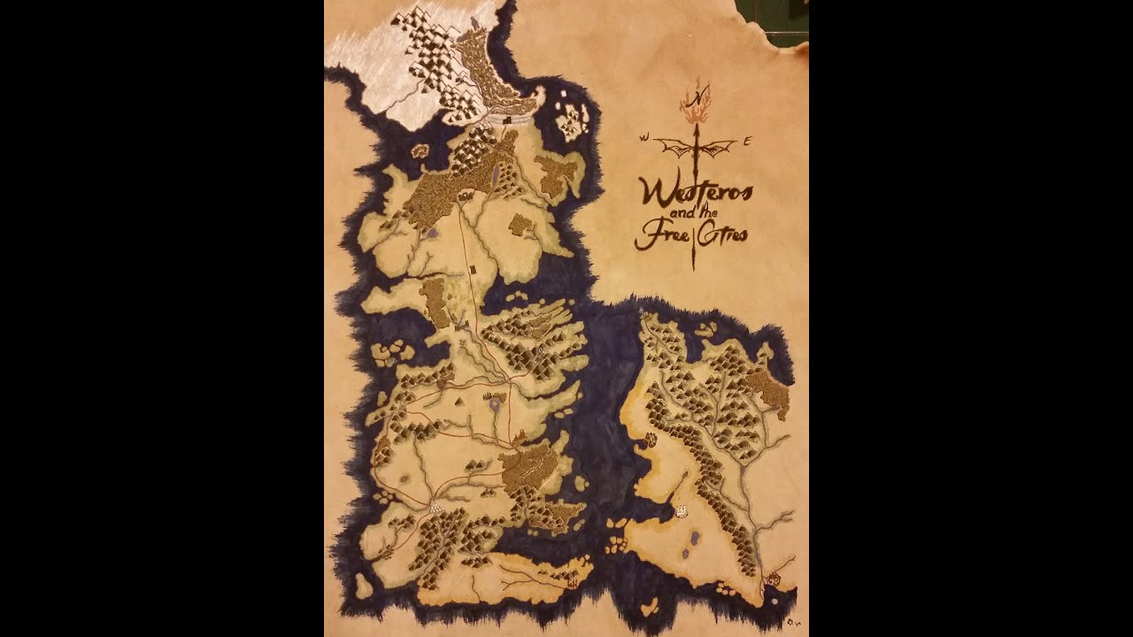 Game of Thrones Making a map of Westeros and the Free Cities