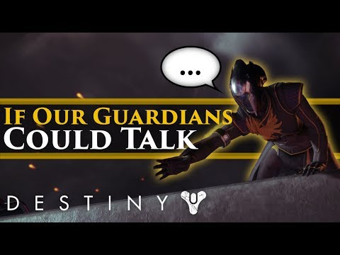 Destiny 2 – What if our guardians could talk? (Silent Protagonists vs Voiced Protagonists)
