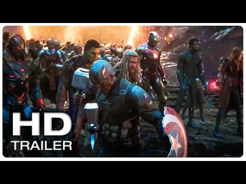 AVENGERS 4 ENDGAME Final Fight Trailer (NEW 2019) Marvel Superhero Movie HD