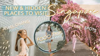 NEW & SECRET PLACES TO VISIT IN SINGAPORE (2019) | FOOD & TRAVEL Guide | Sophie Ramos