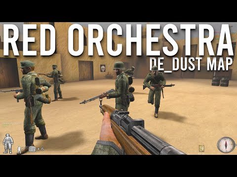 Red Orchestra: Ostfront 41-45 Multiplayer In 2021 De Dust Gameplay   4K  