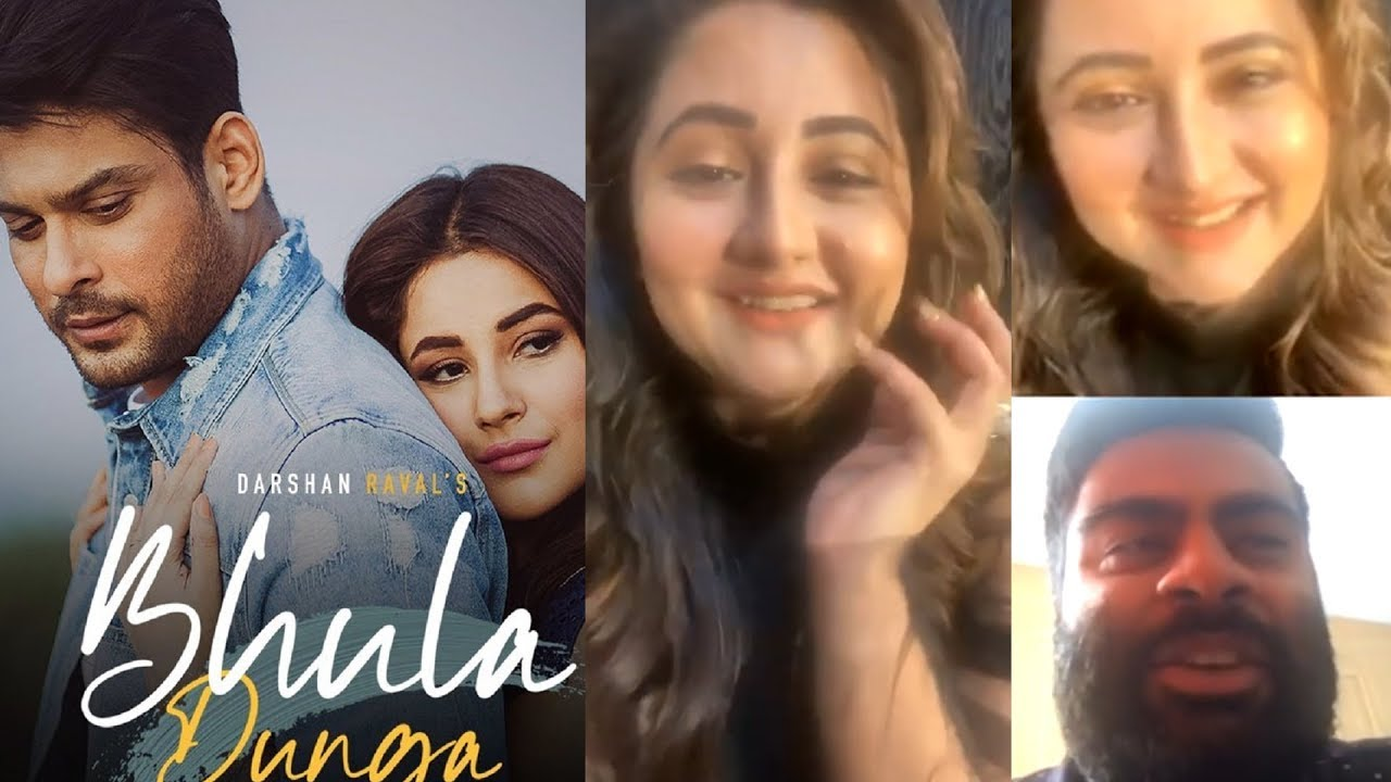 Rashami Desai Live Video Chat With Fan Talks About Bhula Dunga Song - YouTube