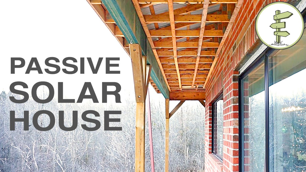 couple builds energy efficient passive solar home - green building