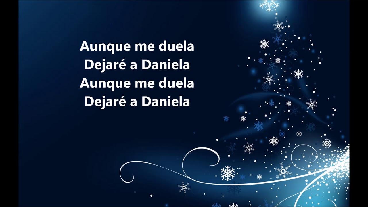 "Daniela Los Hispanos Rodolfo Aicardi ""Letra"""