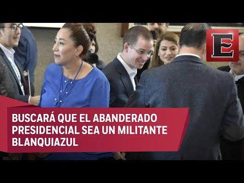 LO ÚLTIMO: PAN aprueba ir en coalición con PRD y MC por la Presidencia