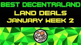 Best Decentraland Land Deals | January Week 2
