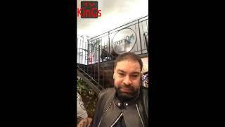 Florin Salam este bine in italia Milano , Mesajul lui