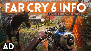 FAR CRY 6 Reveal Gameplay Details! (Secret info that Ubisoft didn't tell you)