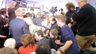 Mikhail Khodorkovsky. Berlin press conference (II)