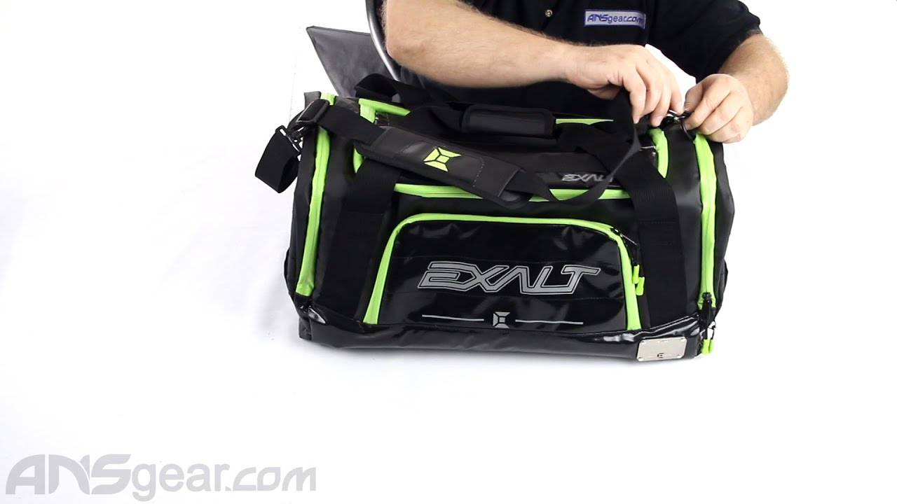 Exalt Getaway Carry On Duffle Bag - Review - YouTube 8fb7b8a389bee