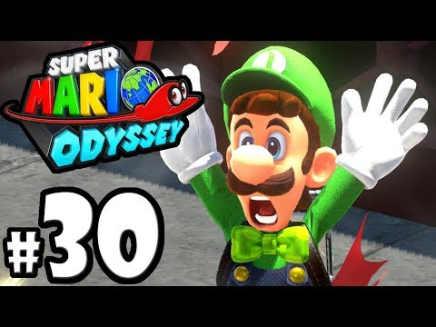 Super Mario Odyssey - Nintendo Switch Gameplay Walkthrough PART 30: Luigi's Balloon World Update