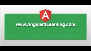 angular2 tutorial create project using angular cli www angular2learning com