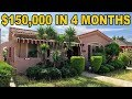 How I made $150,000 in 4 months just by buying and remodeling this property (step by step)