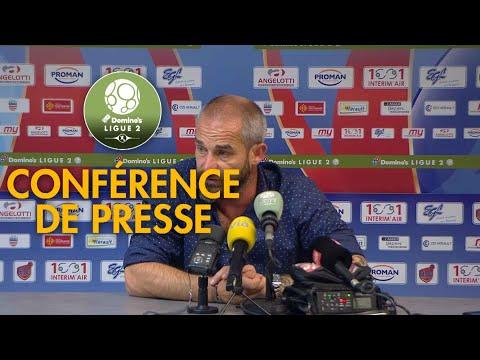 Conférence de presse AS Béziers - FC Metz ( 1-3 )  / 2018-19