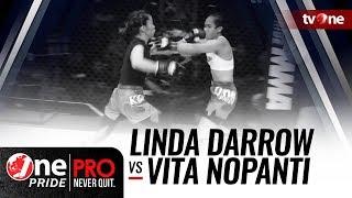 [HD] One Pride MMA 3: Linda Darrow VS Vita Nopanti - Woman StrawWeight Semifinal