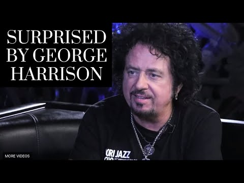 Steve Lukather tells the Story of Being Surprised by George Harrison