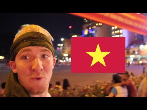 FIRST TIME in VIETNAM! (Ho Chi Minh City Markets)