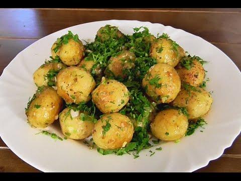 Как пожарить круглую картошку на сковороде
