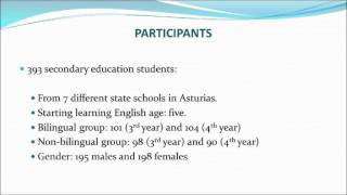 Analysis of The Written Competence of Secondary Education Students ...