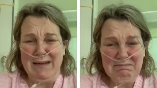 video: Watch: 'Don't go out,' tearful NHS worker struggles to breathe after contracting Covid-19