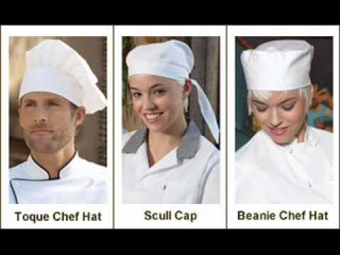 chef uniforms chef hats chef coats chef aprons chef pants youtube. Black Bedroom Furniture Sets. Home Design Ideas