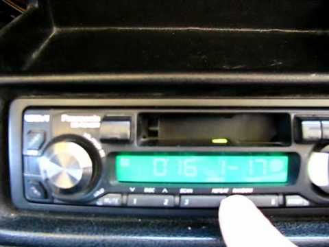 CD-чейнджера Panasonic