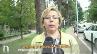 TV Internet 1 Marche - Provinciali Ascoli Piceno intervista a Valentina Bellini