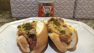 Ragin Cajun Chili Dogs With Homade Chili Sauce