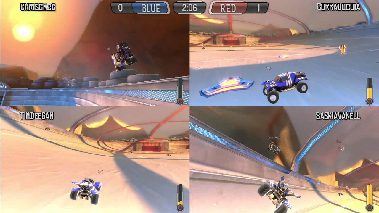 Supersonic Acrobatic Rocket Powered Battle Cars Learning To Drive Ps3 Multiplayer Youtube